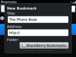 BlackBerry 9360 Curve - Internet - Internet browsing - Step 8