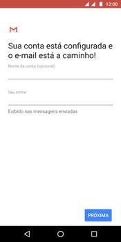 Motorola Moto G6 Plus - Email - Como configurar seu celular para receber e enviar e-mails - Etapa 11