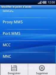 Sony Ericsson Xperia X10 Mini - Mms - Configuration manuelle - Étape 11