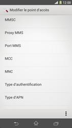 Sony C6903 Xperia Z1 - MMS - Configuration manuelle - Étape 13