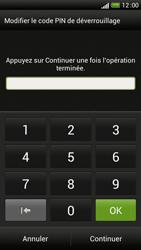 HTC One S - Sécuriser votre mobile - Activer le code de verrouillage - Étape 8