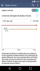 LG K10 4G - Internet no telemóvel - Como ativar os dados móveis -  6