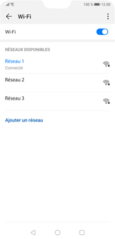 Huawei P20 Pro Android Pie - Wi-Fi - Se connecter à un réseau Wi-Fi - Étape 8