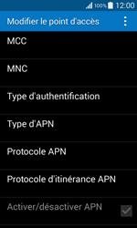 Samsung G355 Galaxy Core 2 - Internet - configuration manuelle - Étape 13