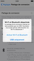 Apple iPhone 5c (iOS 8) - Internet et connexion - Partager votre connexion en Wi-Fi - Étape 6