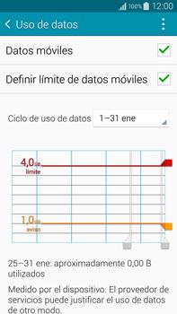 Samsung N910F Galaxy Note 4 - Internet - Ver uso de datos - Paso 11