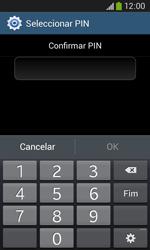 Samsung Galaxy Ace 3 LTE - Segurança - Como ativar o código de bloqueio do ecrã -  10