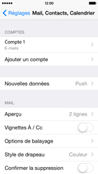 Apple iPhone 5c iOS 8 - E-mail - Configuration manuelle - Étape 25