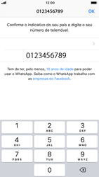 Apple iPhone 7 - iOS 12 - Aplicações - Como configurar o WhatsApp -  9