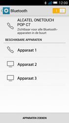 Alcatel OT-7041X Pop C7 - Bluetooth - Aanzetten - Stap 6