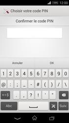 Sony Xpéria E3 - Sécuriser votre mobile - Activer le code de verrouillage - Étape 10