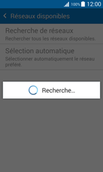 Samsung G388F Galaxy Xcover 3 - Réseau - Sélection manuelle du réseau - Étape 7
