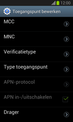 Samsung S7390 Galaxy Trend Lite - Internet - Handmatig instellen - Stap 15