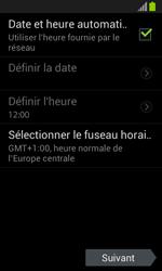 Samsung Galaxy S3 Mini - Premiers pas - Créer un compte - Étape 4