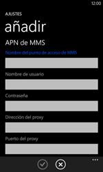 Nokia Lumia 520 - Mensajería - Configurar el equipo para mensajes multimedia - Paso 12