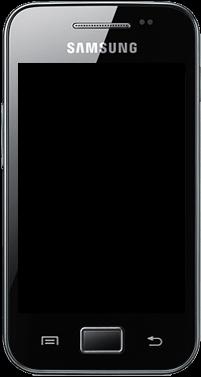 Samsung Galaxy Ace - Premiers pas - Découvrir les touches principales - Étape 3