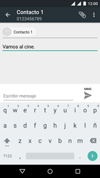 Motorola Moto X Play - Mensajería - Escribir y enviar un mensaje multimedia - Paso 10