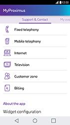 LG X Cam - Applications - MyProximus - Step 19
