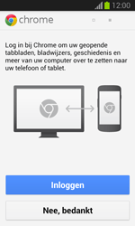 Samsung S7390 Galaxy Trend Lite - Internet - Hoe te internetten - Stap 5