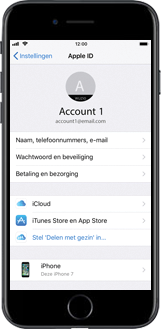 Apple iPhone 7 iOS 11 - Instellingen aanpassen - Back-up maken in je account - Stap 6