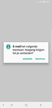 Samsung Galaxy Note 8 - E-mail - Handmatig instellen (outlook) - Stap 5