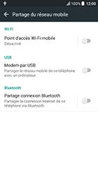 HTC U Play - Internet et connexion - Utiliser le mode modem par USB - Étape 8