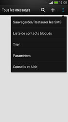 HTC Desire 601 - SMS - configuration manuelle - Étape 6