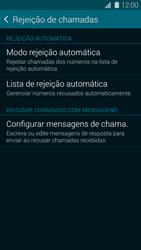 Samsung G900F Galaxy S5 - Chamadas - Como bloquear chamadas de um número específico - Etapa 8