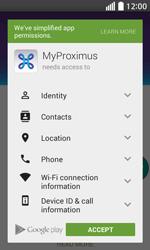 LG L70 - Applications - MyProximus - Step 9