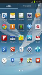 Samsung N7100 Galaxy Note II - Internet - Hoe te internetten - Stap 2