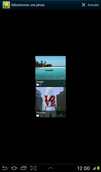 Samsung P3100 Galaxy Tab 2 7-0 - MMS - envoi d'images - Étape 10