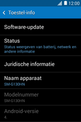 Samsung G130HN Galaxy Young 2 - Software update - update installeren zonder PC - Stap 5