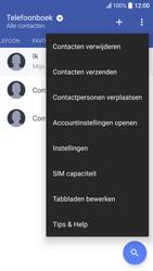 HTC 10 - Contacten en data - Contacten kopiëren van toestel naar SIM - Stap 5