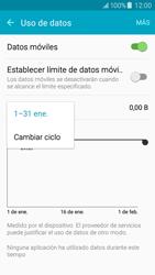 Samsung Galaxy J5 - Internet - Ver uso de datos - Paso 6