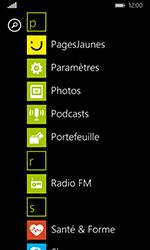 Nokia Lumia 635 - Internet et connexion - Désactiver la connexion Internet - Étape 3