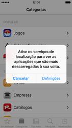 Apple iPhone SE iOS 10 - Aplicações - Como pesquisar e instalar aplicações -  4