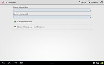 Samsung N8020 Galaxy Note 10-1 LTE - E-mail - Handmatig instellen - Stap 16