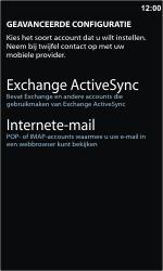 Samsung I8350 Omnia W - E-mail - handmatig instellen - Stap 8