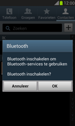 Samsung I8190 Galaxy S III Mini - Contacten en data - Contacten overzetten via Bluetooth - Stap 7