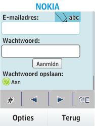 Nokia Asha 300 - E-mail - e-mail instellen: POP3 - Stap 5