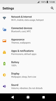 Sony Xperia XA2 Ultra - Wi-Fi - Connect to a Wi-Fi network - Step 4
