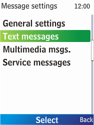 Nokia X2-00 - SMS - Manual configuration - Step 6