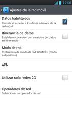 LG Optimus L9 - Mensajería - Configurar el equipo para mensajes multimedia - Paso 6