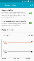 Samsung Galaxy A3 (2016) - Internet - Ver uso de datos - Paso 9