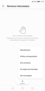 Huawei P Smart - Chamadas - Como bloquear chamadas de um número -  8
