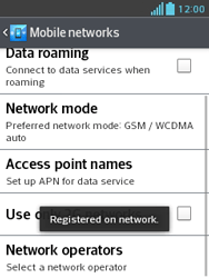 LG E430 Optimus L3 II - Network - Usage across the border - Step 11