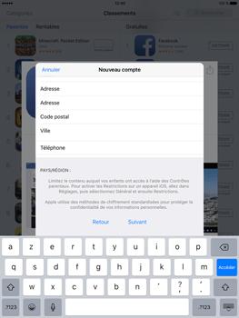 Apple iPad Pro (9.7) - Applications - Télécharger des applications - Étape 20