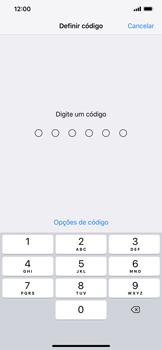 Apple iPhone XS Max - Segurança - Como ativar o código de bloqueio do ecrã -  5