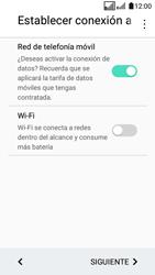 LG K4 (2017) - Primeros pasos - Activar el equipo - Paso 8