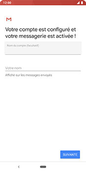 Google Pixel 3 - E-mail - 032b. Email wizard - Yahoo - Étape 12